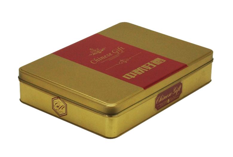 长方形月饼铁盒