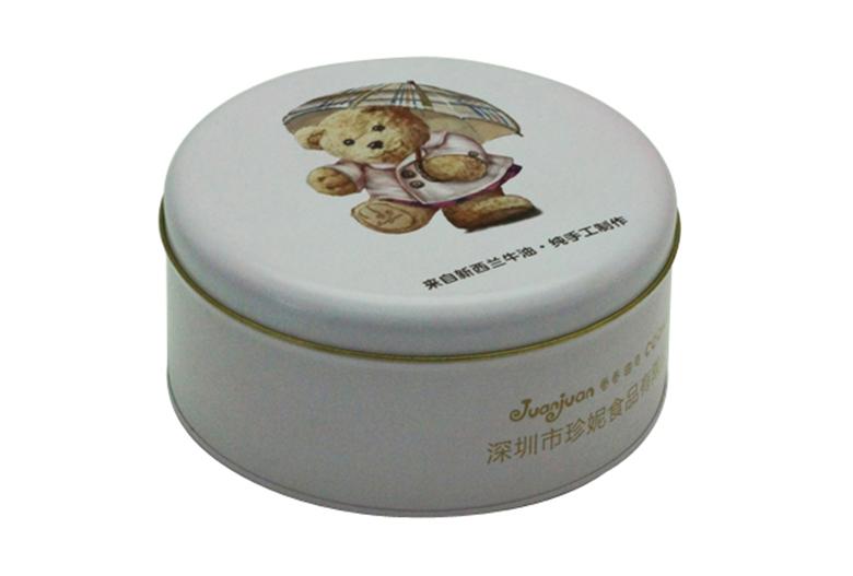 小熊曲奇饼干铁盒