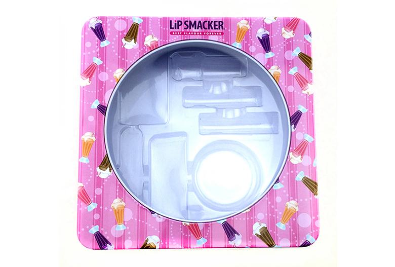 唇膏化妆品铁盒