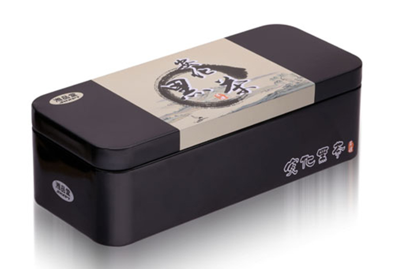 安化黑茶铁盒包装