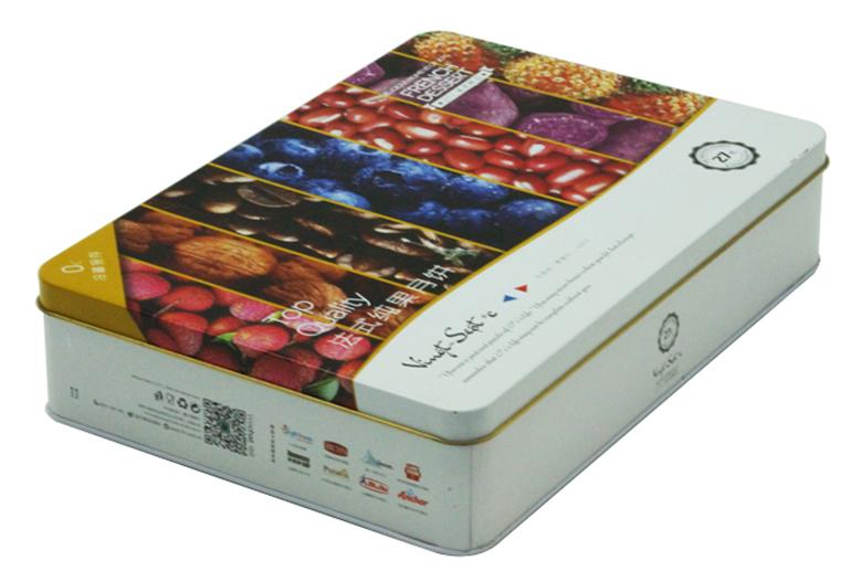 长方形月饼铁盒定制