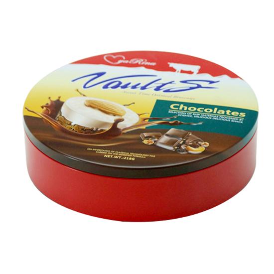 圆形巧克力糖果铁罐