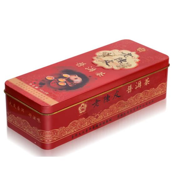 普洱茶叶铁盒包装