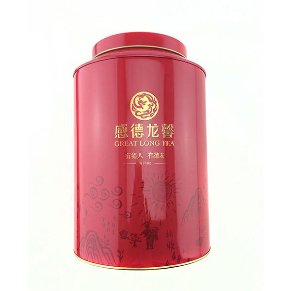 西湖龙井茶铁罐
