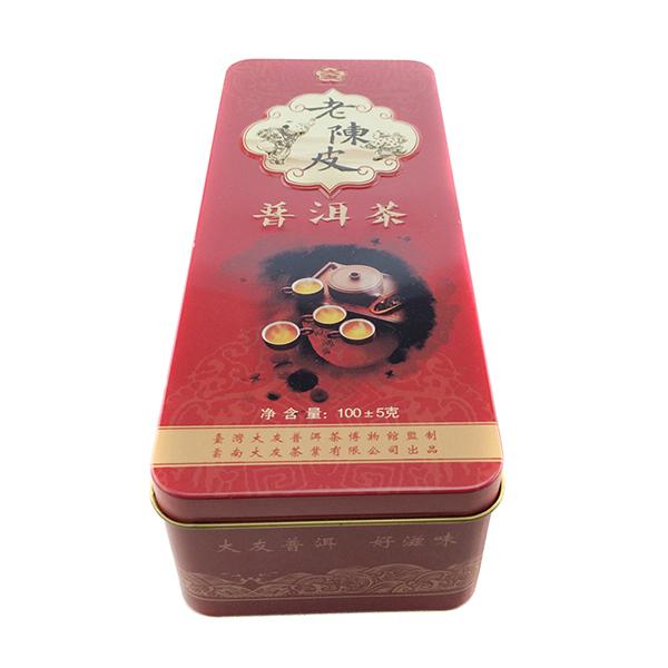 普洱茶铁盒