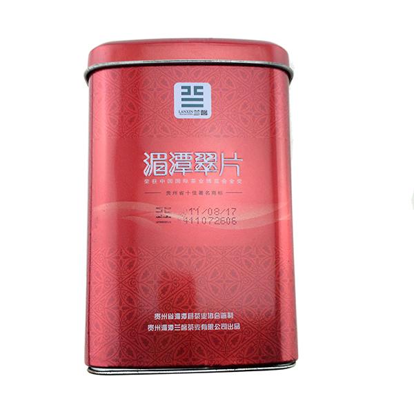 方形红茶铁罐