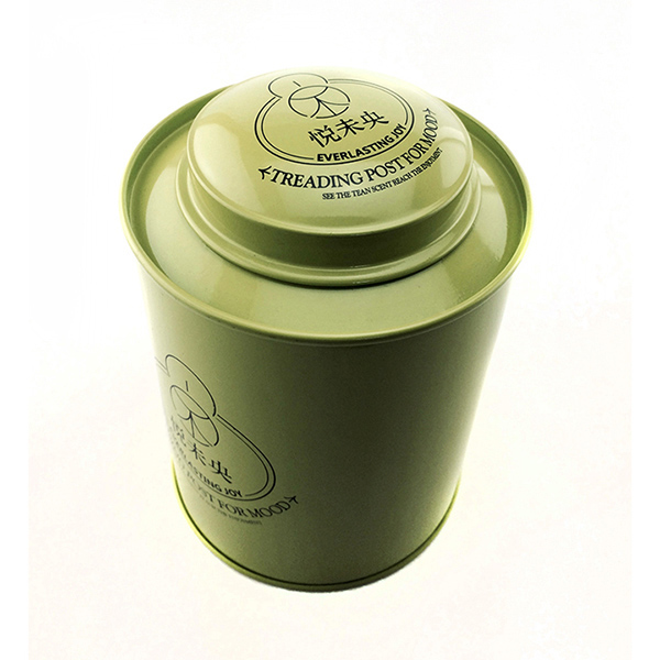 绿茶铁罐包装