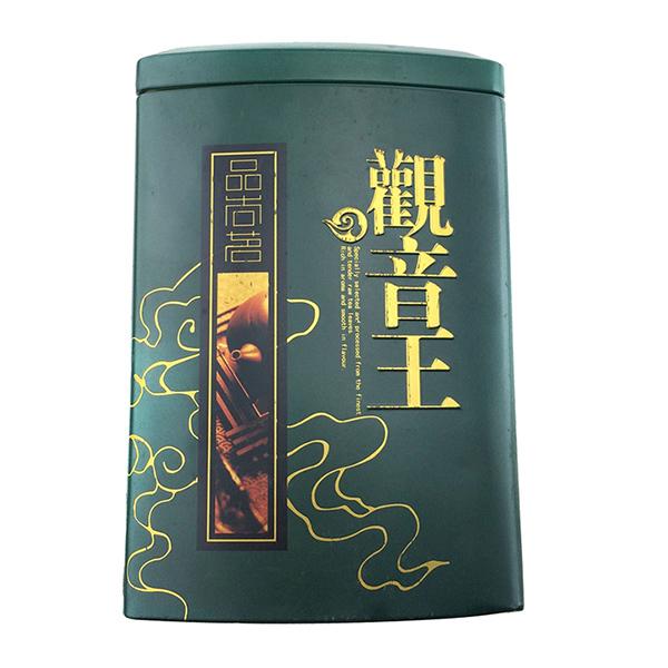 观音王茶叶铁罐