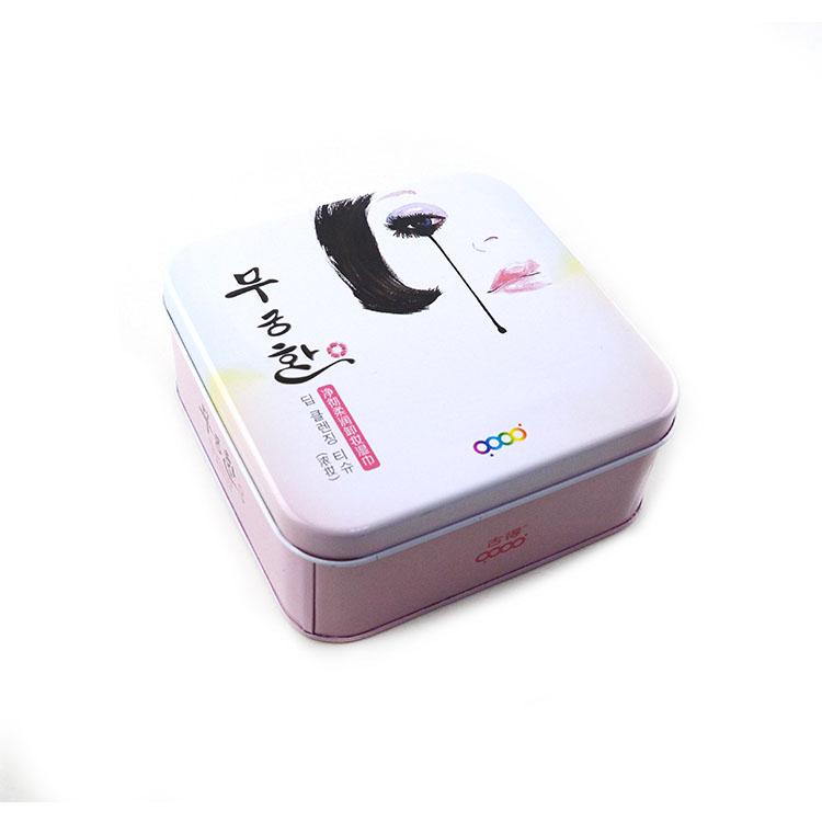 韩版化妆品铁盒