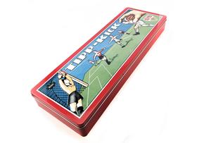 足球卡通文具铁盒