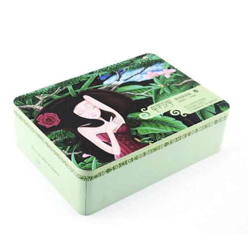 正方形化妆品铁盒