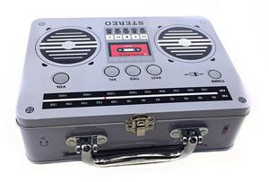 收音机铁盒包装