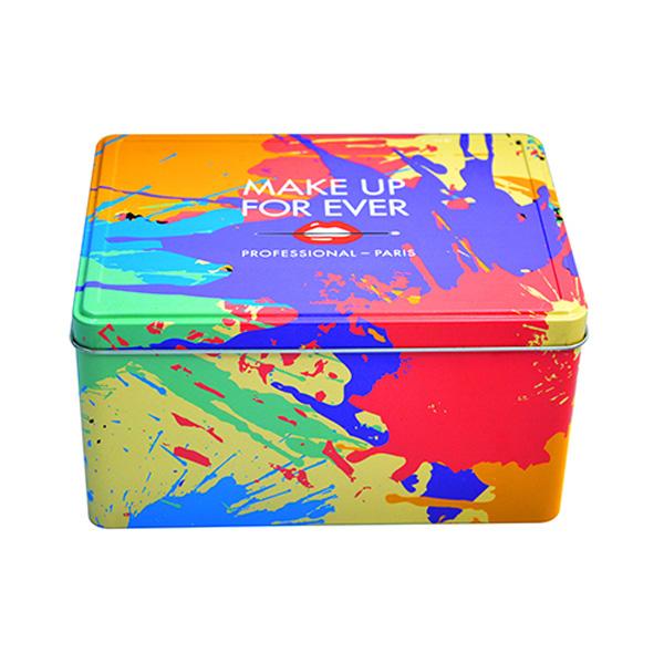 彩色收纳铁盒