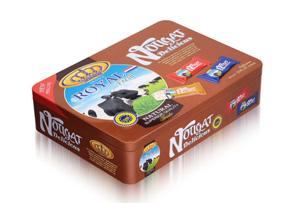 长方形奶糖铁盒