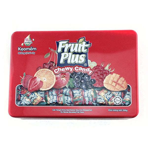 长方形水果糖铁盒