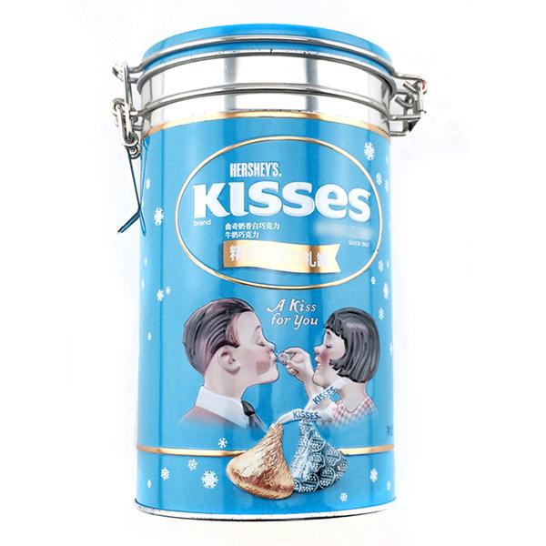 巧克力糖果铁罐
