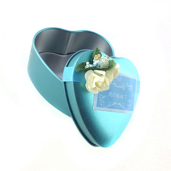 结婚喜糖包装铁盒