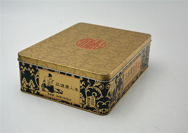 石斛保健品铁盒
