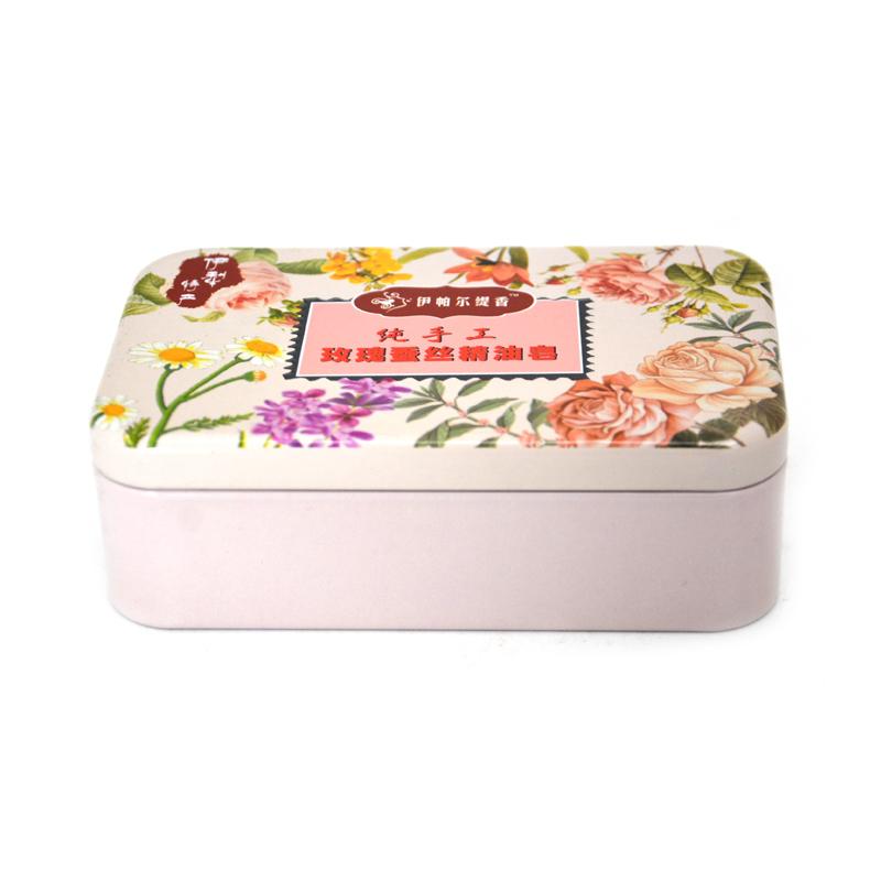 精油皂铁盒