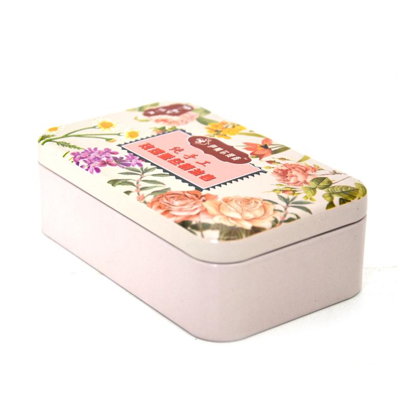精油皂化妆品铁盒
