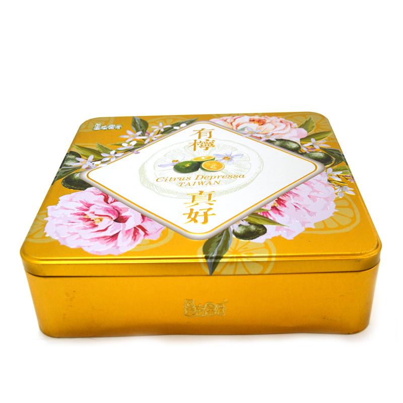 香檬月饼铁盒