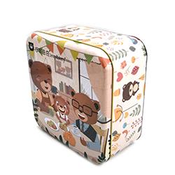方形饼干铁盒