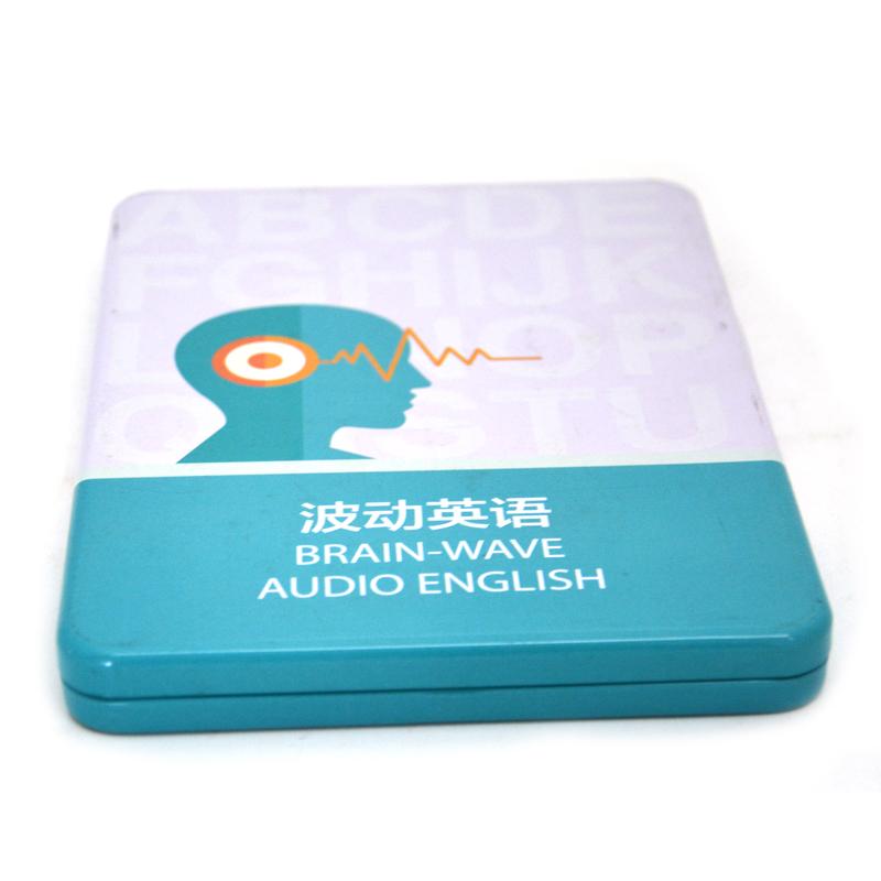 英语书电子产品铁盒
