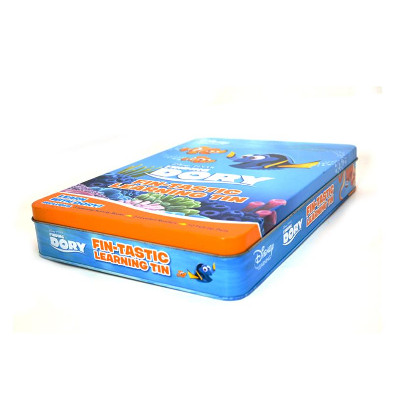 海底总动员卡通文具铁盒