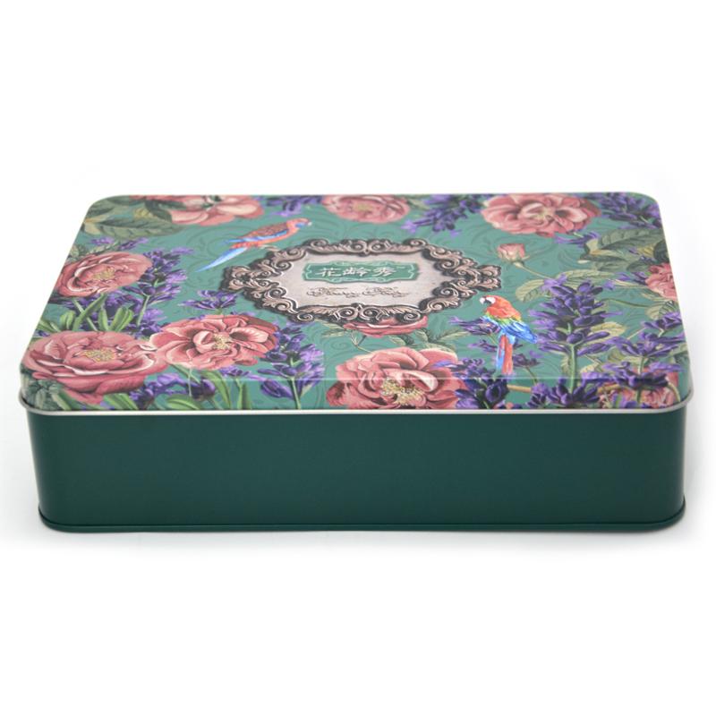 花龄秀化妆品铁盒