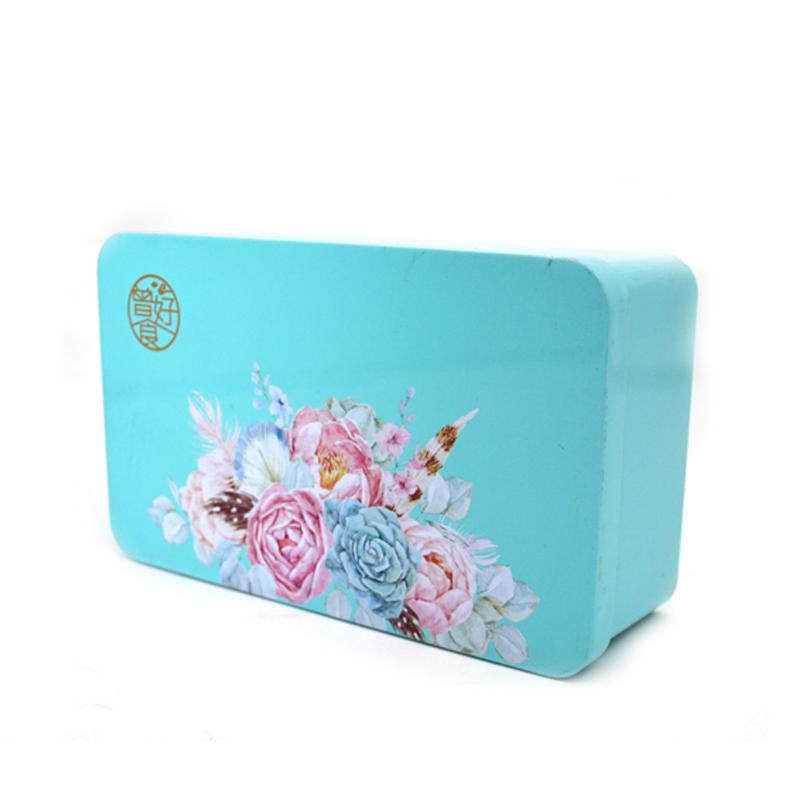 长方形食品铁盒