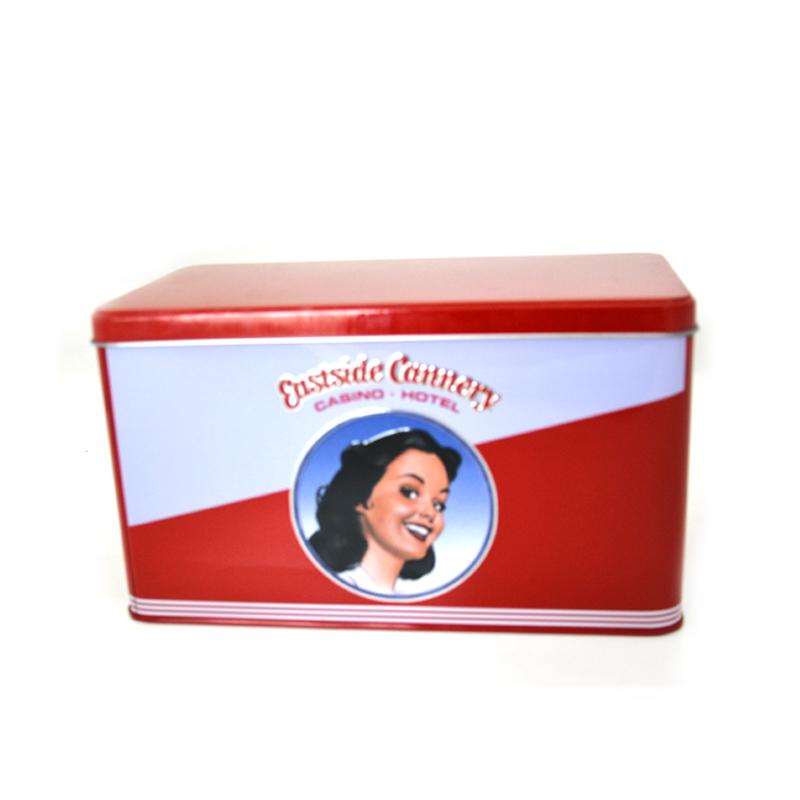 欧式风格化妆品铁盒
