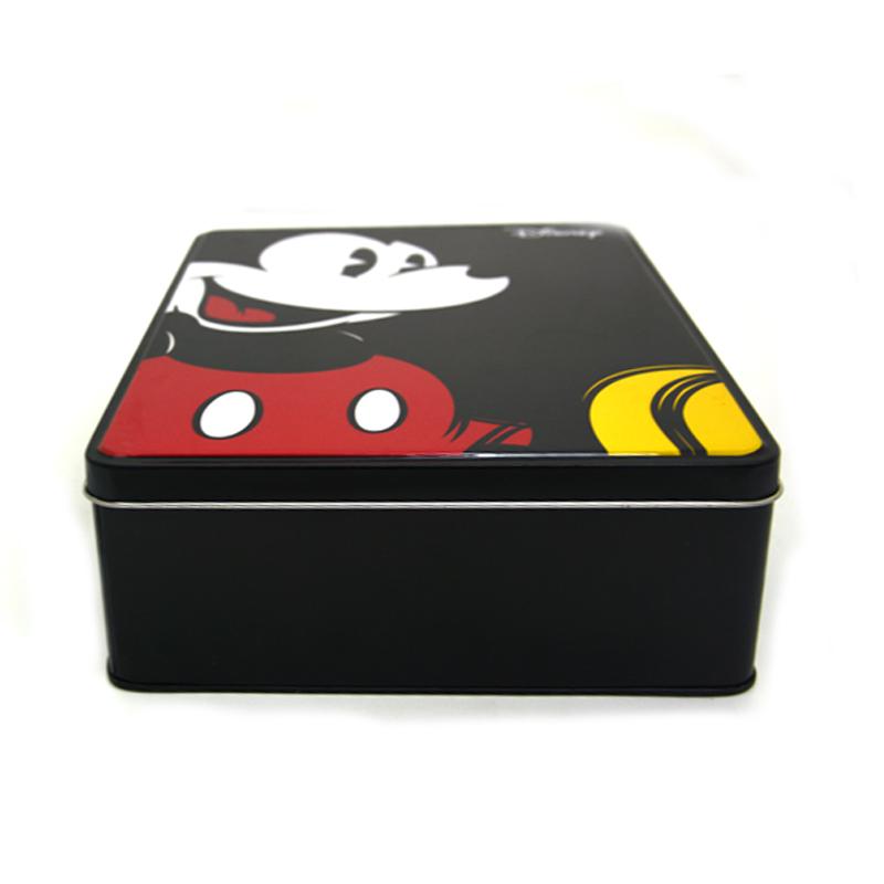 米老鼠卡通文具铁盒