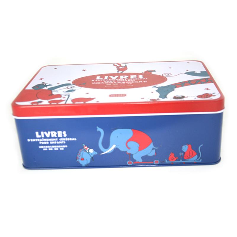 玩具书铁盒包装