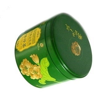 金花茶铁罐