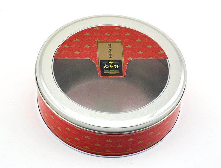 圆形海参食品铁罐