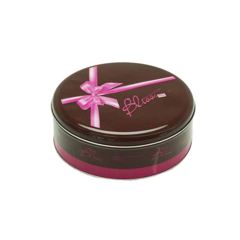 马口铁圆形糖果盒