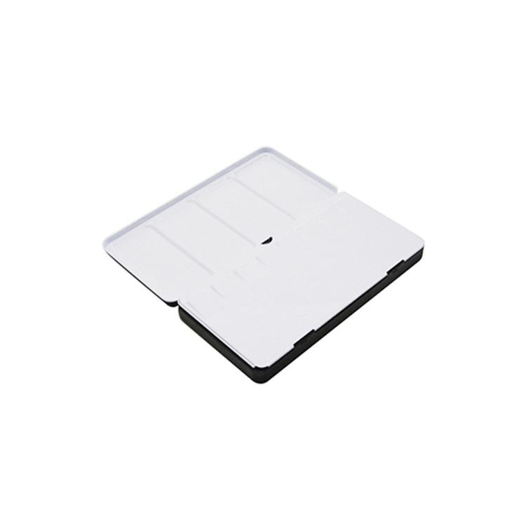 颜料铁盒,水彩颜料长方形铁盒,