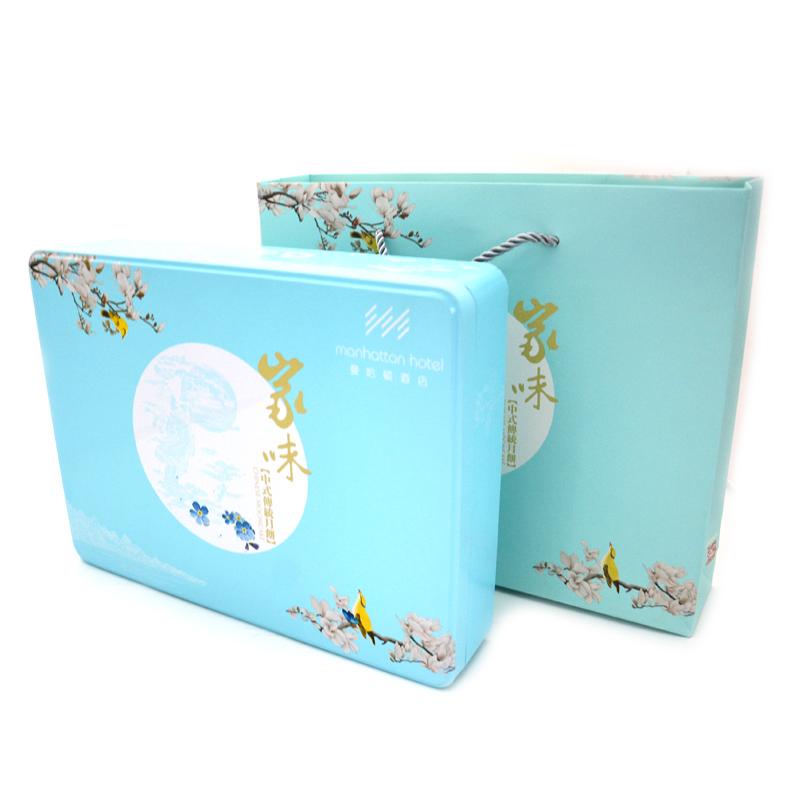 中式月饼铁盒