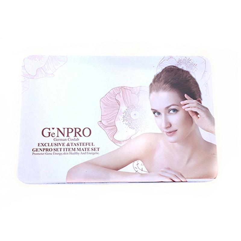 面膜化妆品铁盒