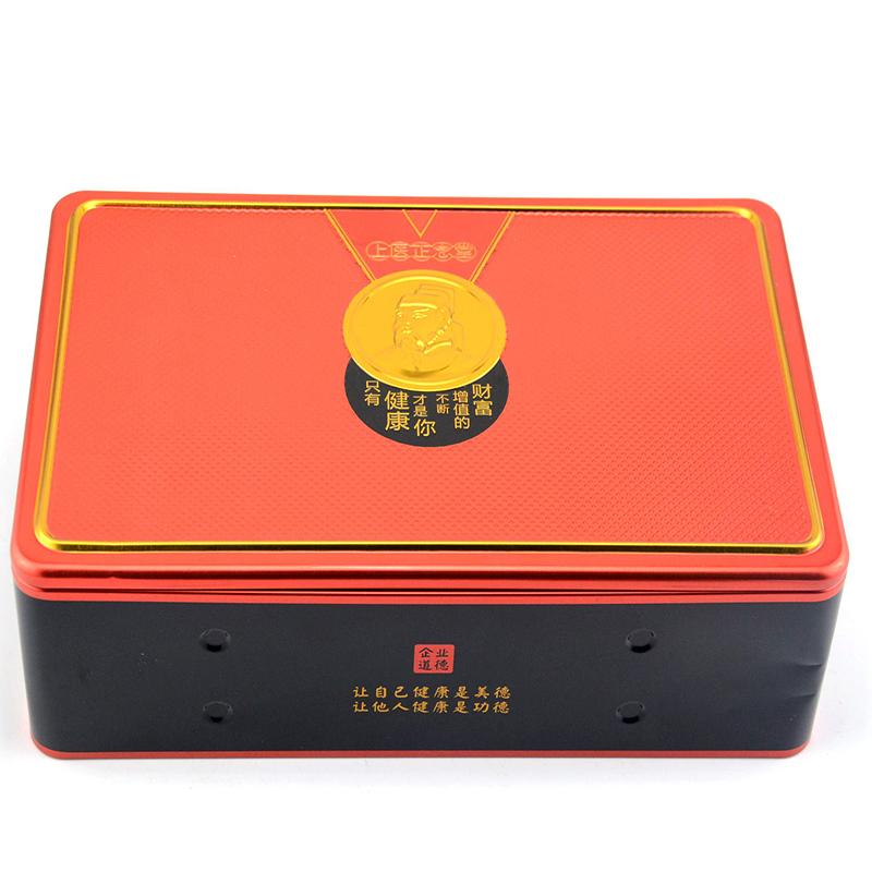 正念堂保健品铁盒包装