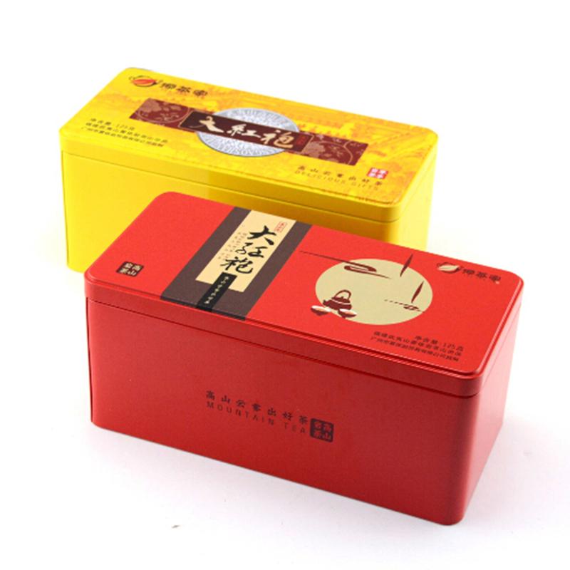 大红袍茶叶铁盒
