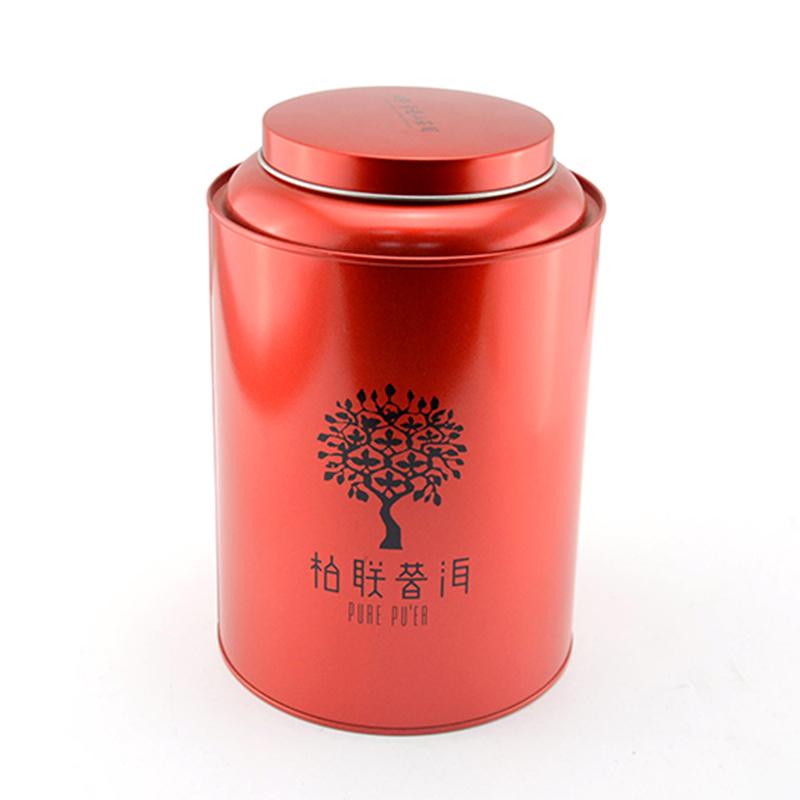 普洱茶铁罐包装