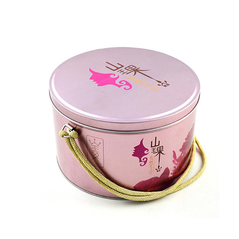 山王果节日礼品铁罐
