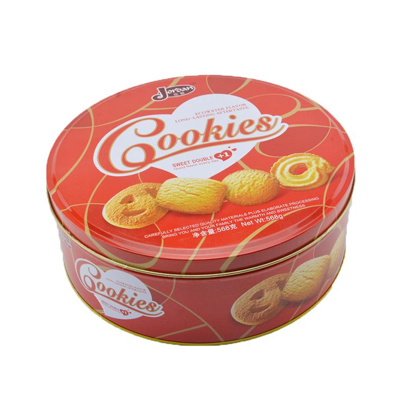 曲奇饼干铁罐包装