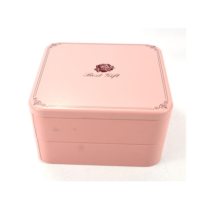 正方形月饼铁盒