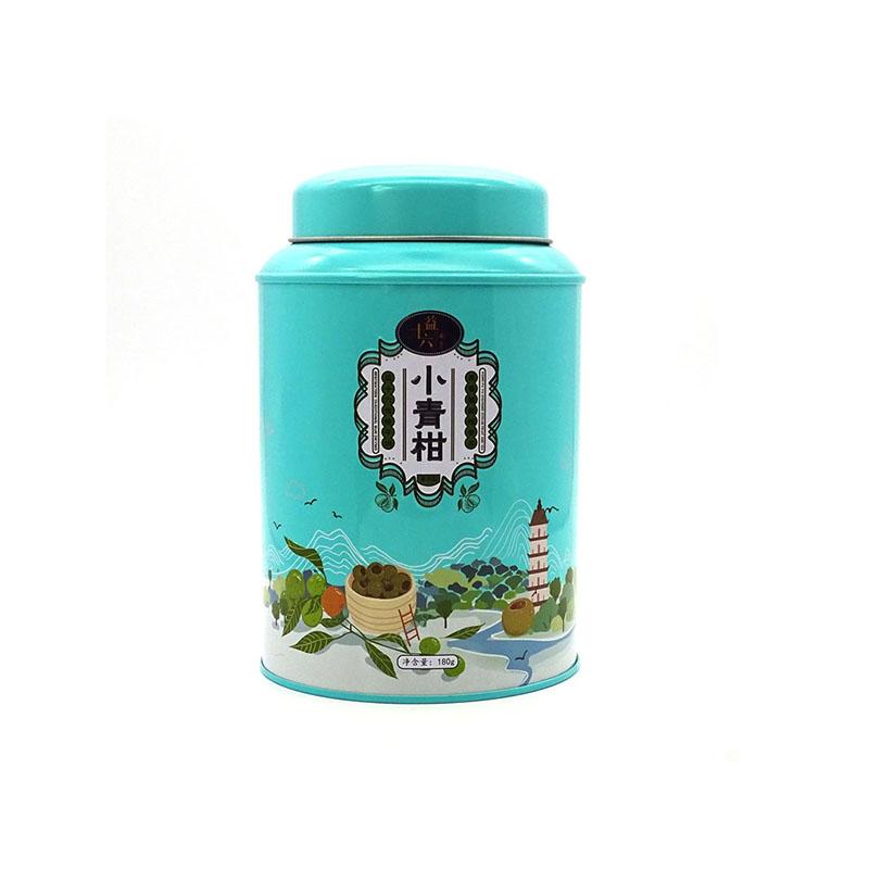 小青柑茶叶铁罐包装