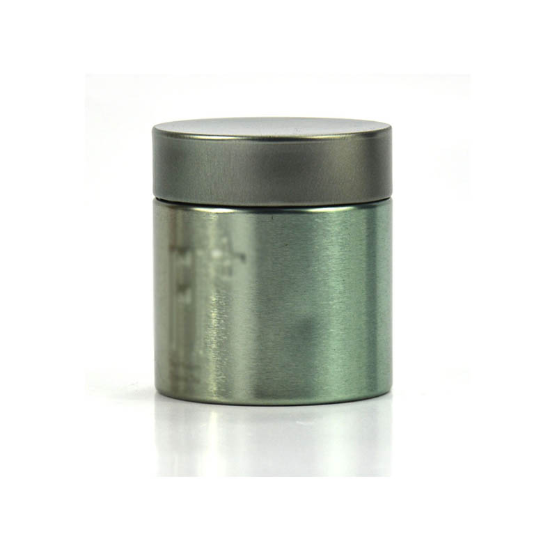 圆形绿茶铁罐