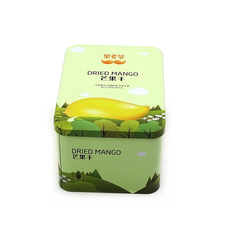 芒果干糖果铁盒
