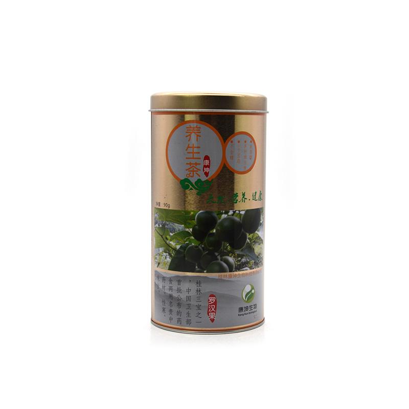 90g养生茶叶铁罐