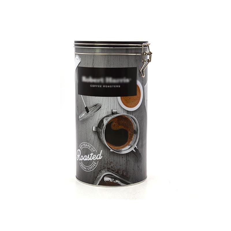 大圆形咖啡铁罐